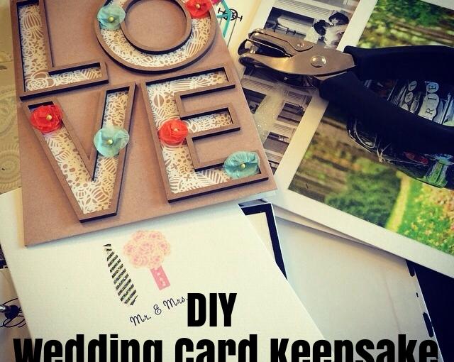 Wedding Card Keepsake