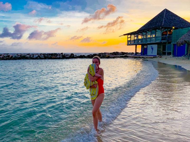 Beach Babe – 7Months