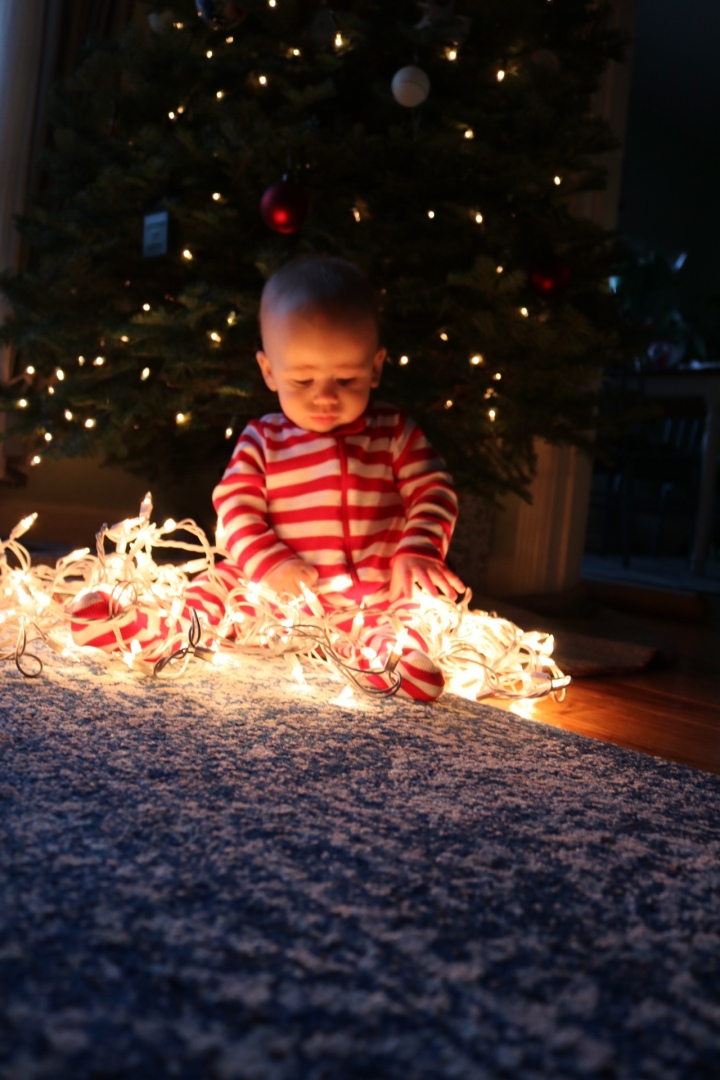 8 Months & Christmas Magic